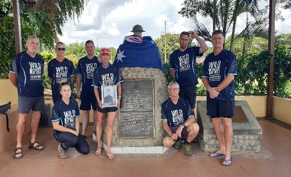 Borneo Trails Soldiers On to Remember the Fallen